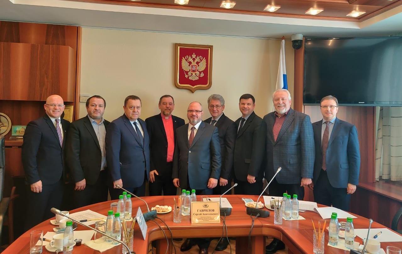 Сергей Гаврилов встретился с лидерами протестантов