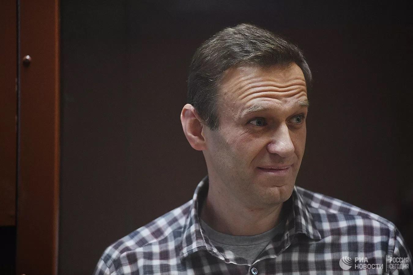 Навальный воззвал к Богу в суде
