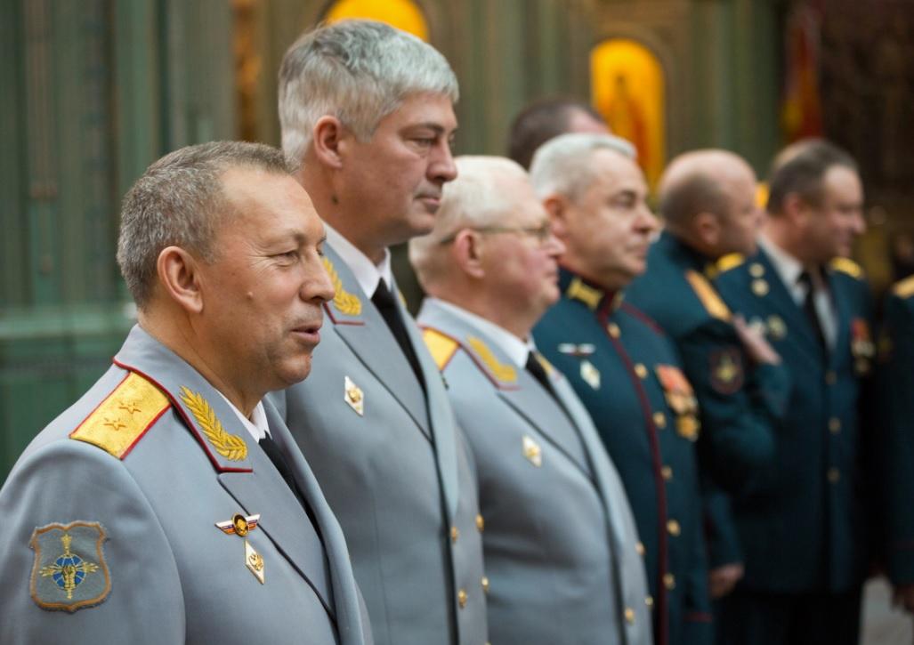 Икона войск радиоэлектронной борьбы передана в Главном Храме ВС