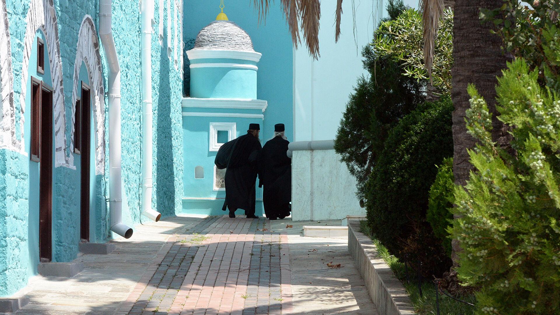 Греки отмечают духовные связи Мишустина с монастырем Филофей