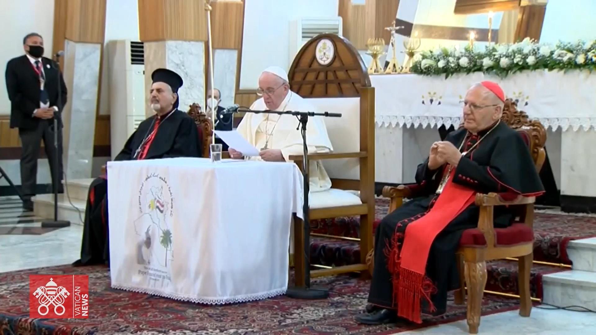 Папа духовенству: Насилие и ненависть несовместимы с религией