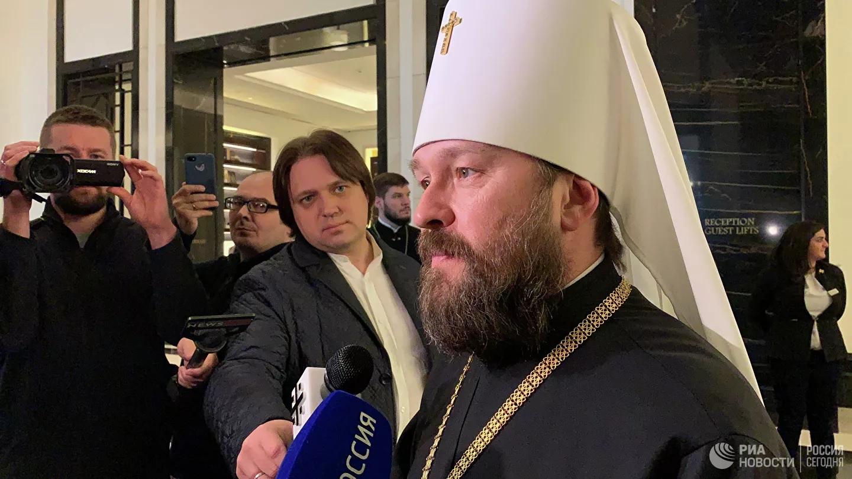 Митрополит Иларион: Кризис мирового православия | Интервью