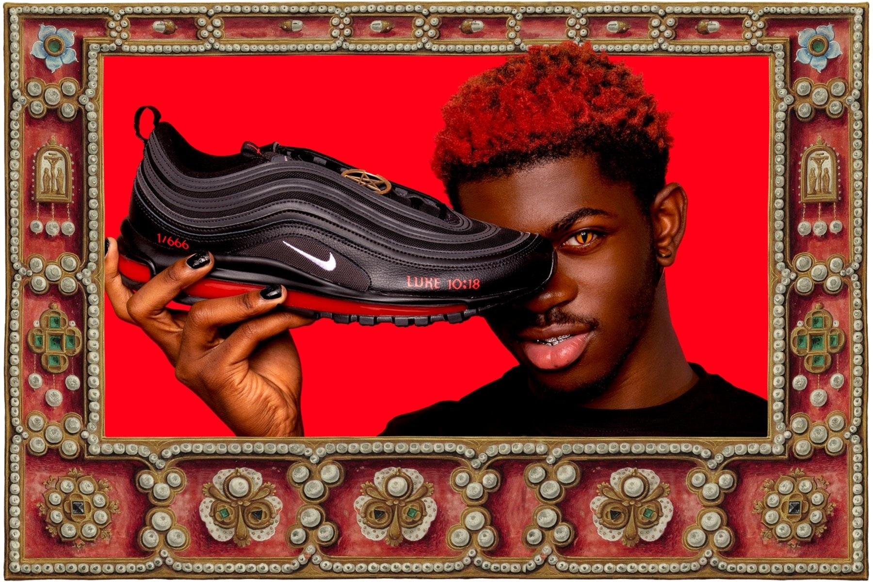 Nike отрицает причастность к 'Satan Shoes' рэпера Lil Nas X