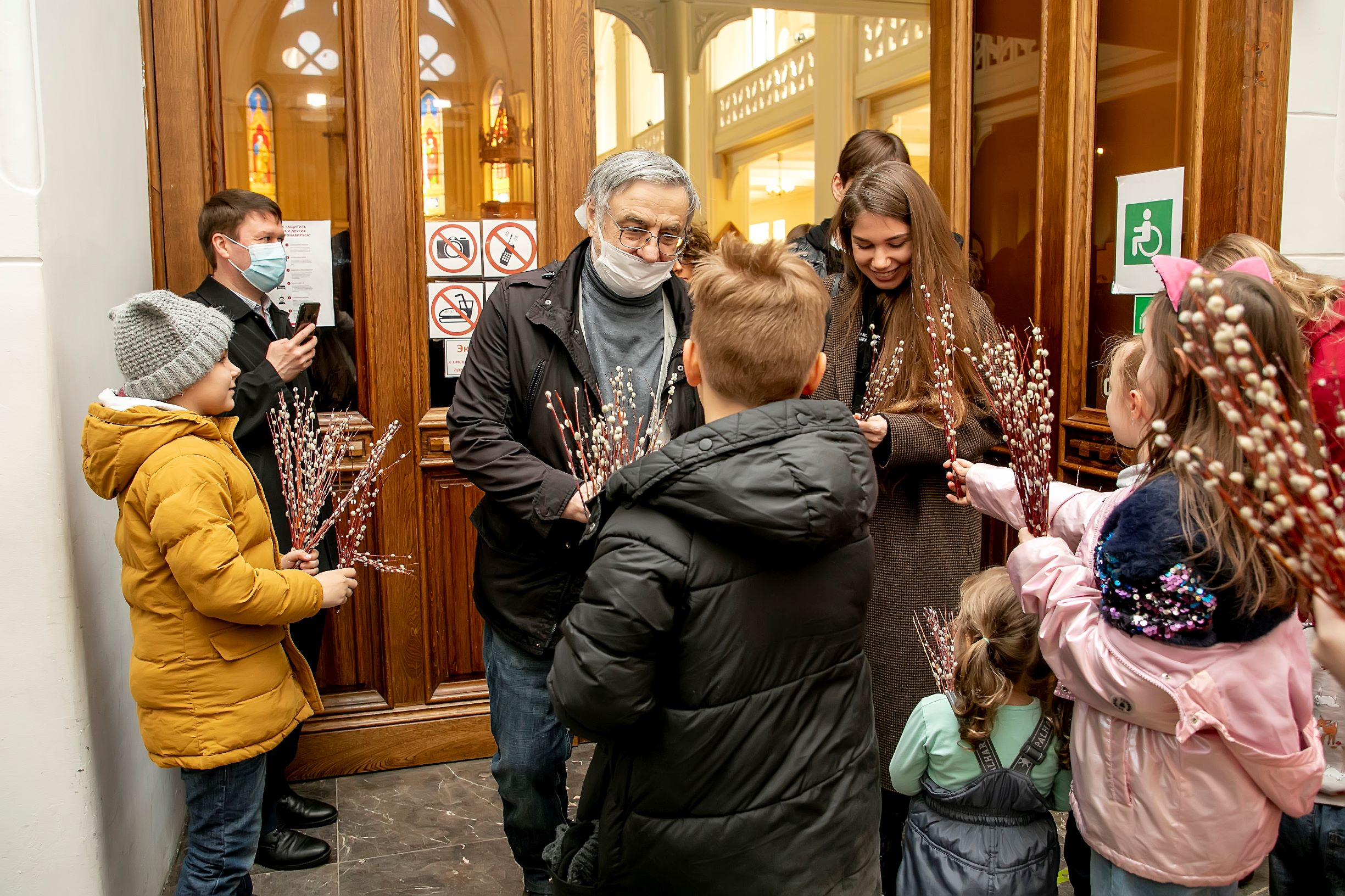Московские лютеране встретили Пальмовое (Вербное) воскресенье