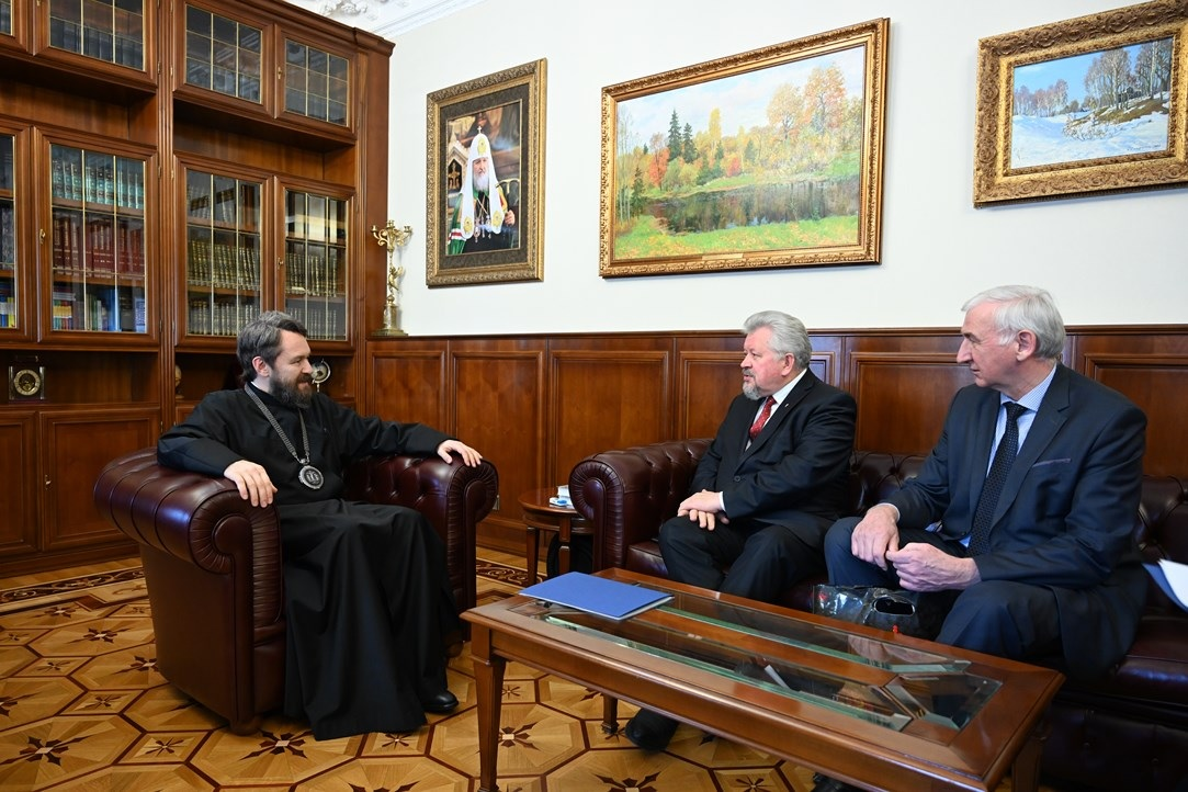 Председатель ОВЦС встретился с руководством Союза баптистов