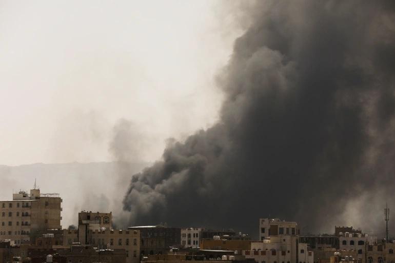 Коалиция Саудовской Аравии ударила по хуситам в Йемене