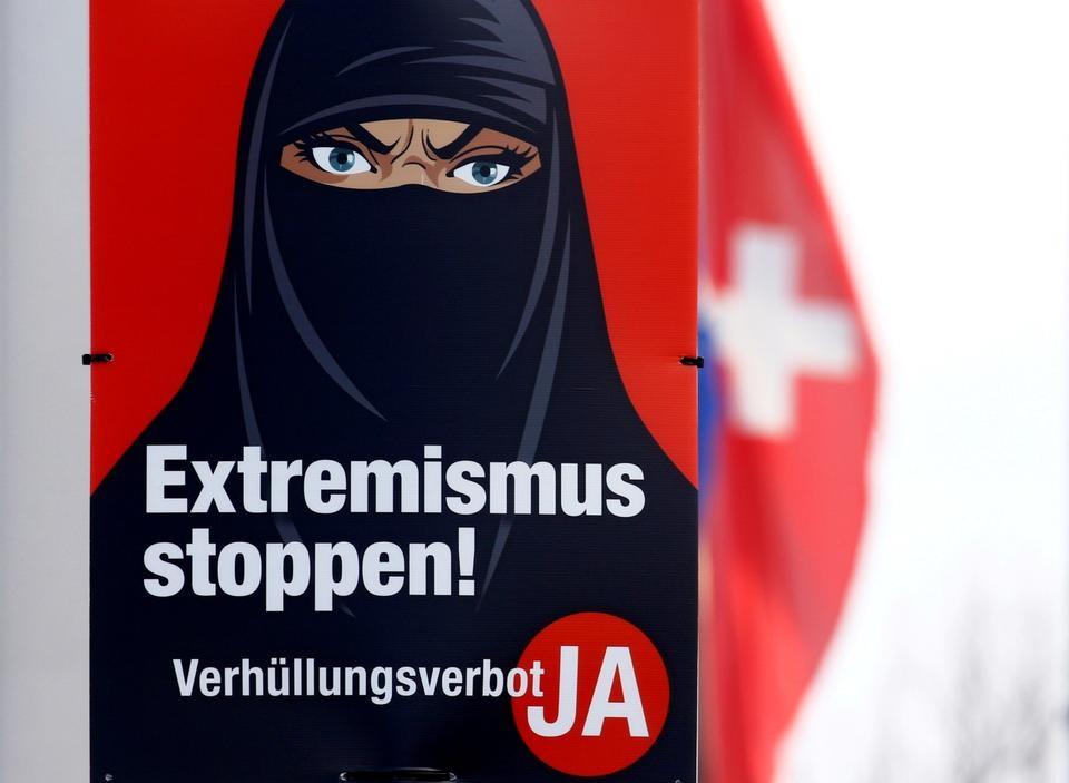 Швейцарцы проголосовали за запрет паранджи и никаба