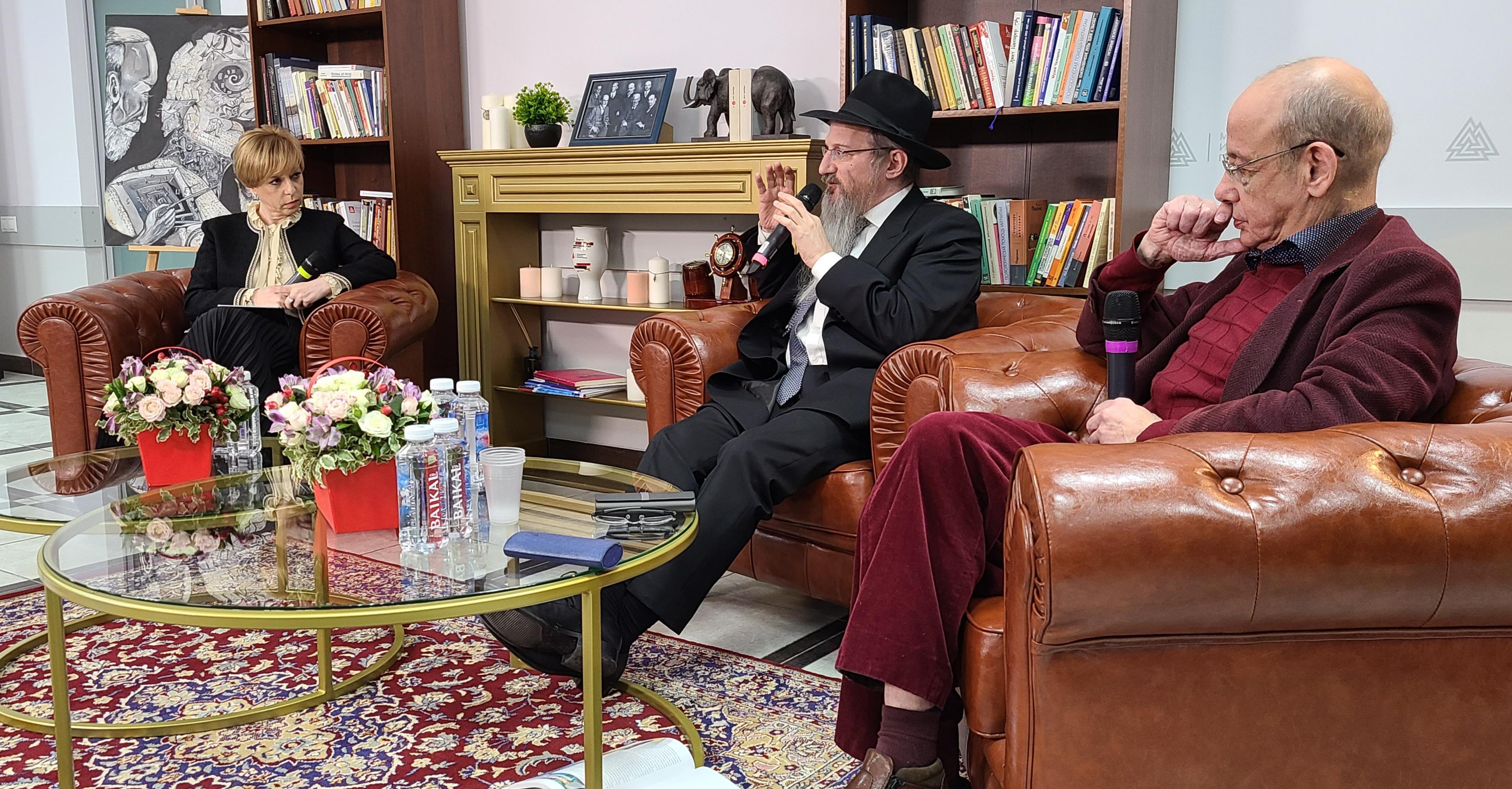 О душе в психологии и религии говорили раввин Лазар и д-р Асмолов