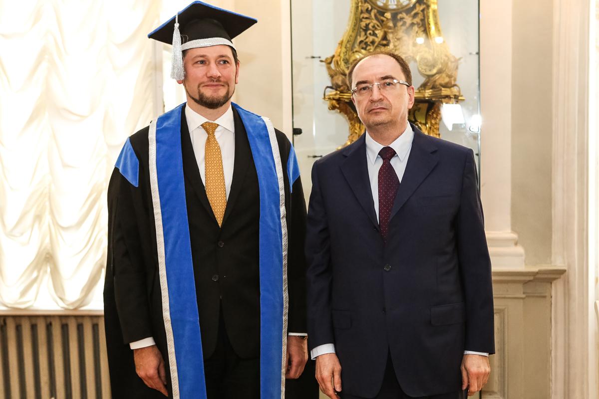 Диплом доктора теологии вручен Дамиру Мухетдинову