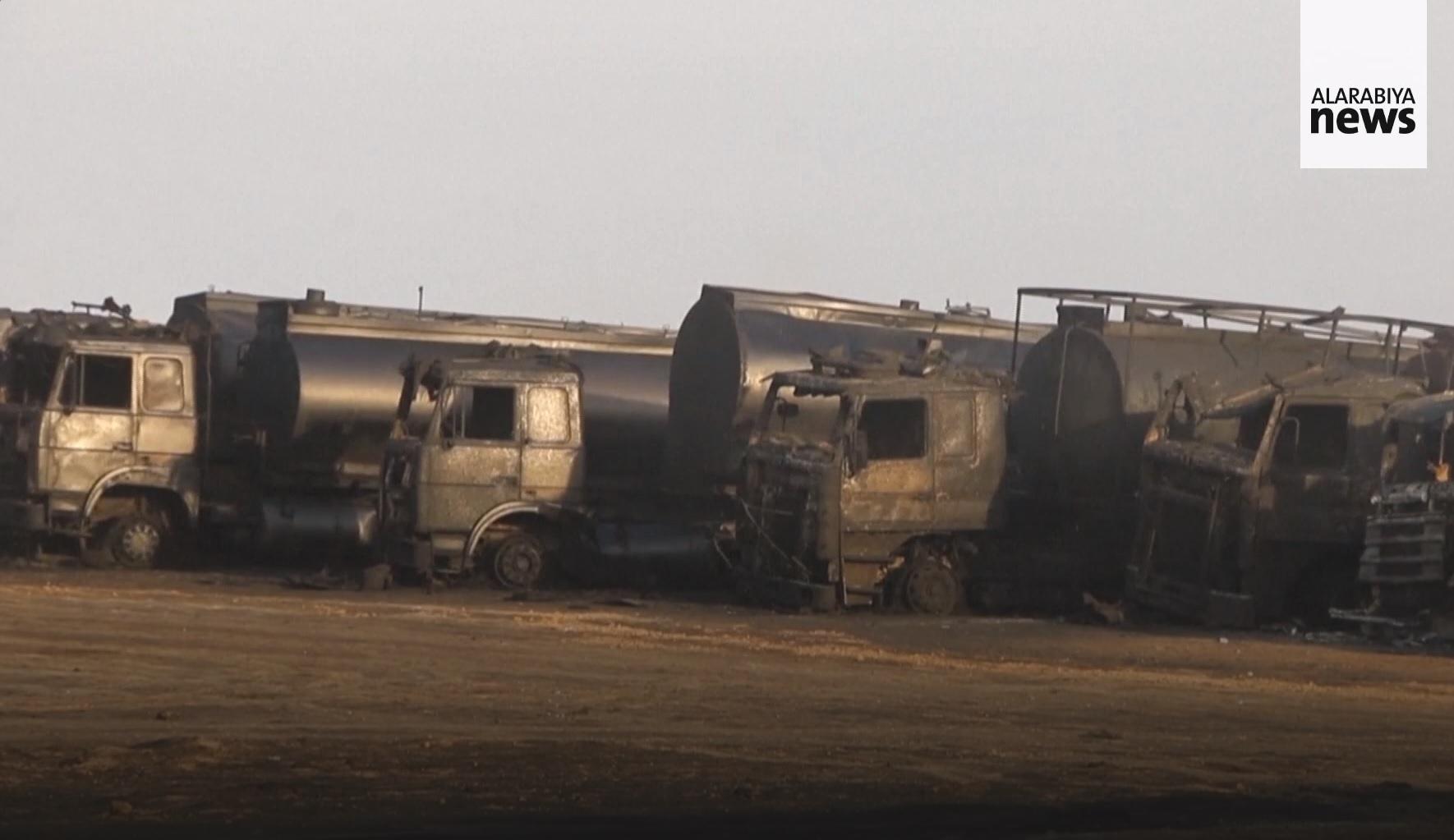 В Сирии уничтожен нефтекомплекс оппозиции - русские ракеты?