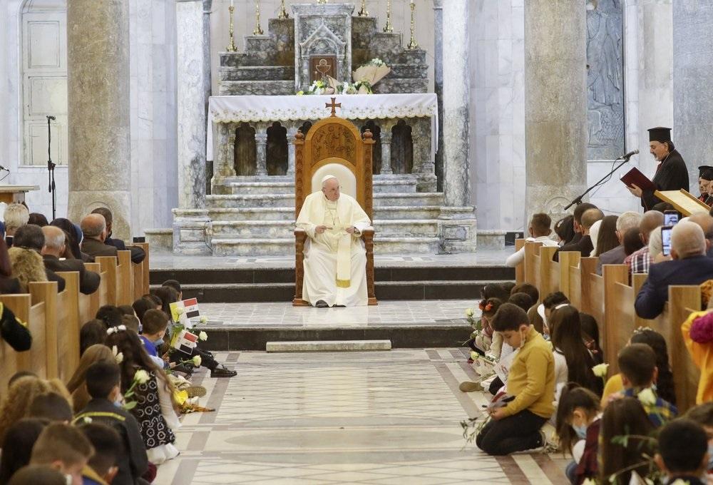 Там, где правил ИГ*, Папа призывает христиан к прощению