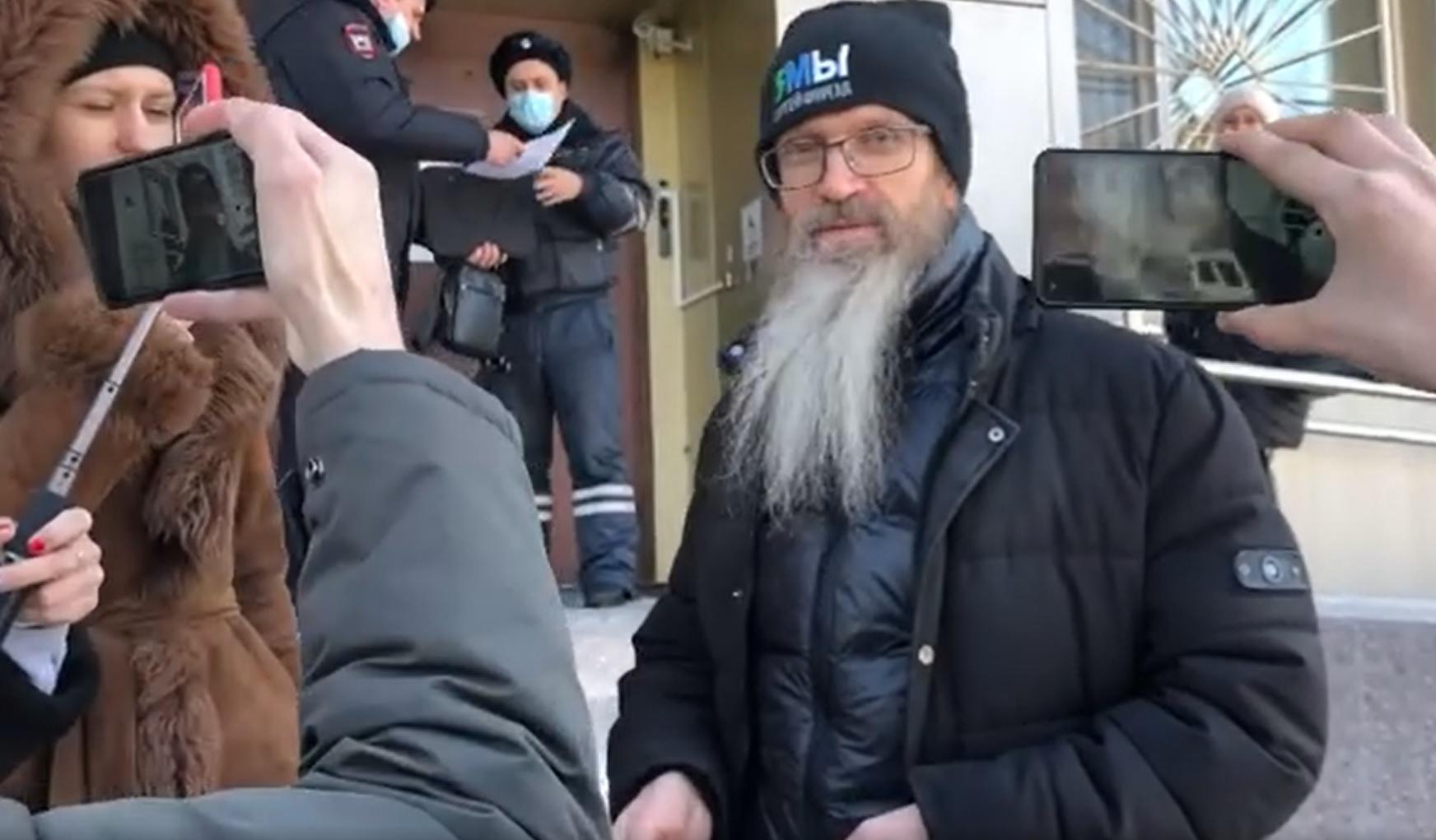 Суд арестовал на 20 суток священника Андрея Винарского