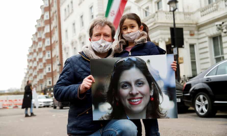 Назанин Загари-Рэтклифф - в иранском суде за пропаганду
