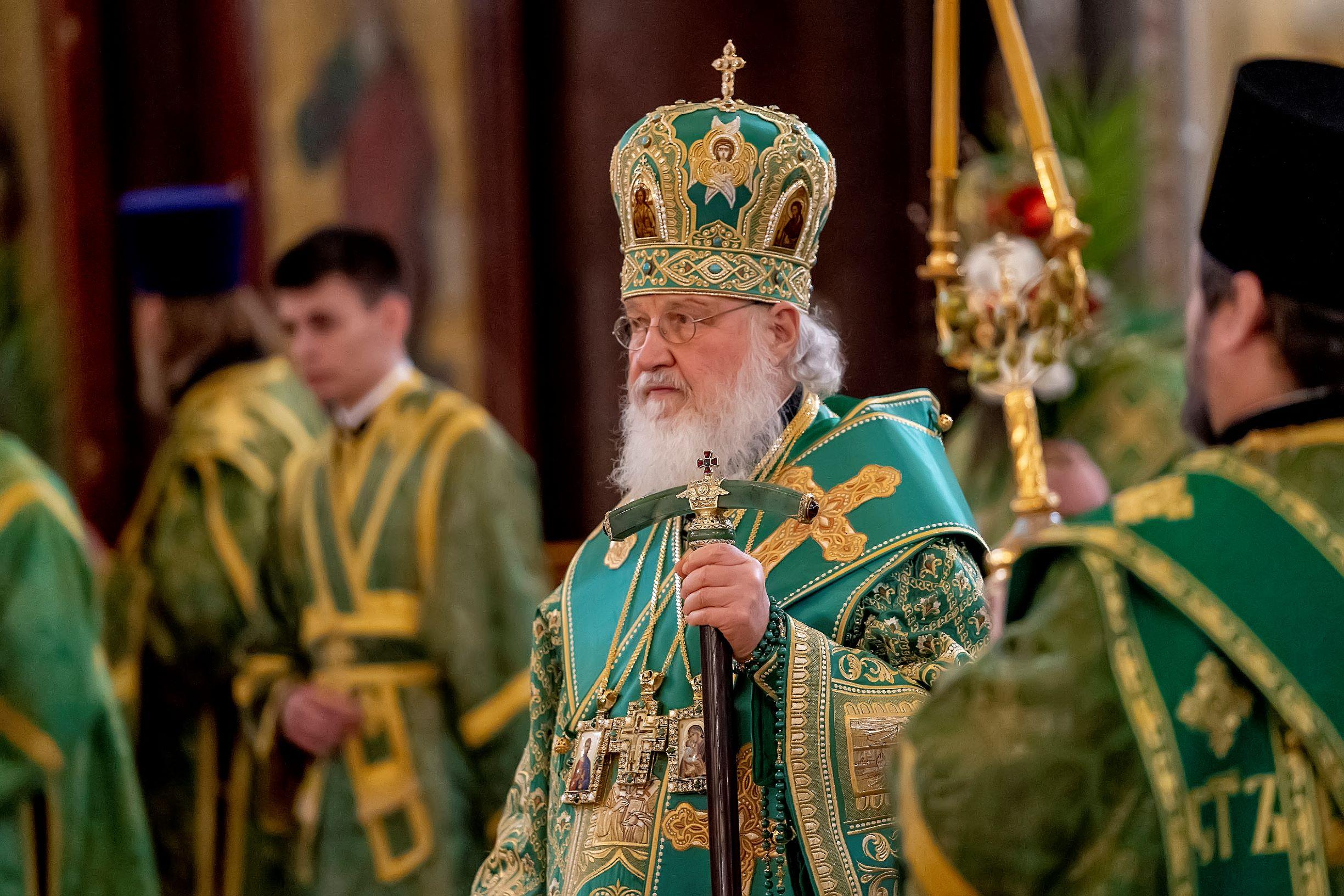 Патриаршая Литургия в праздник Входа Господня в Иерусалим | Фото