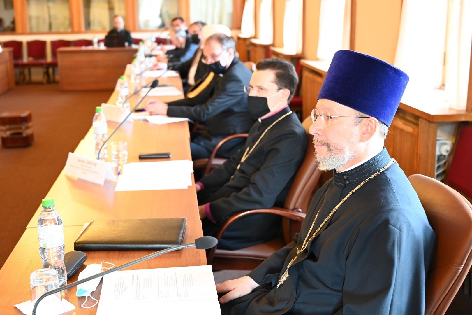 Заседание международной Комиссии Совета при Президенте России
