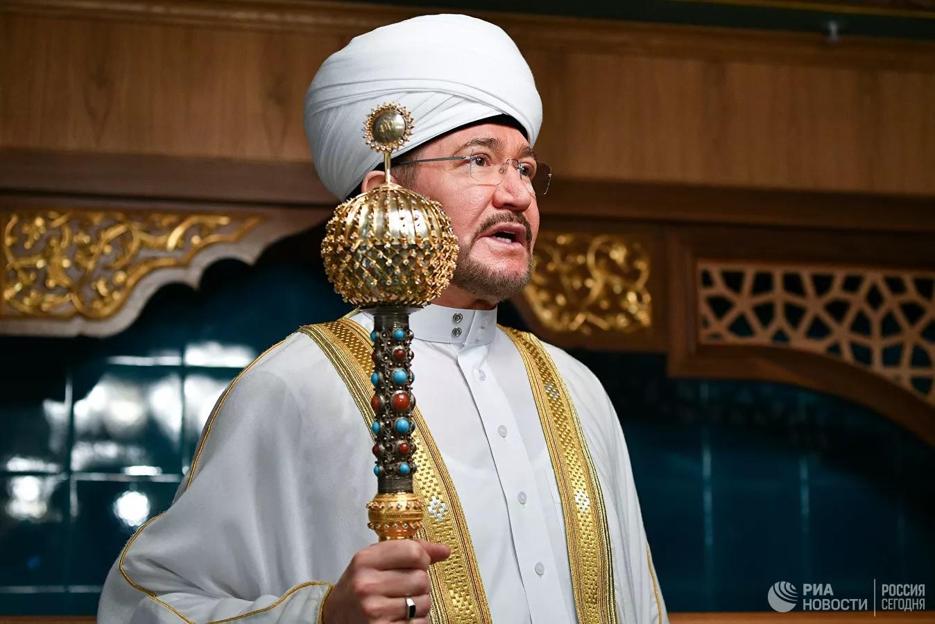 Муфтий Гайнутдин - о проверке мусульманских книг на экстремизм