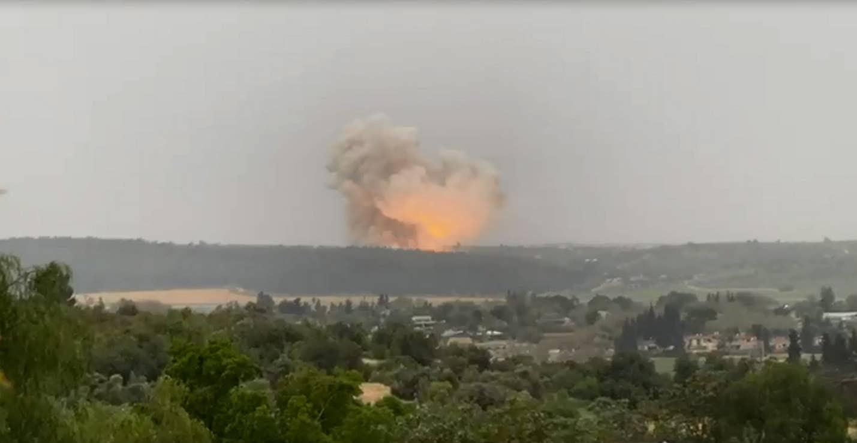 Мощный взрыв потряс израильский военный завод
