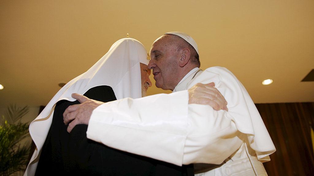 Митрополит Иларион оценил вероятность визита Папы в Киев