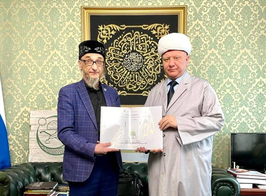 Глава ДСМР обсудил проект Соборной мечети в Екатеринбурге