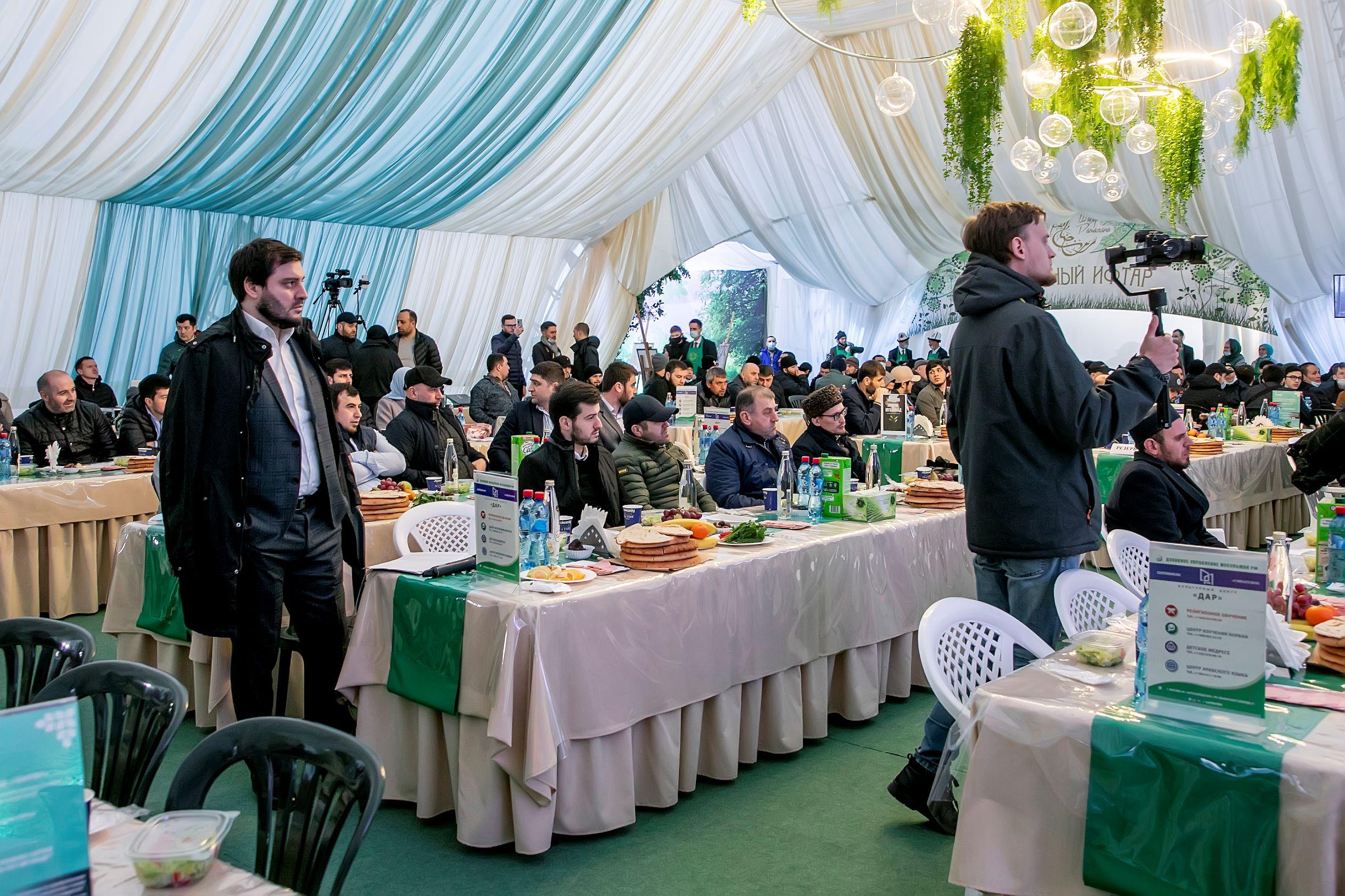 В Москве прошел вечер ифтара от лезгинской общины | Фоторепортаж