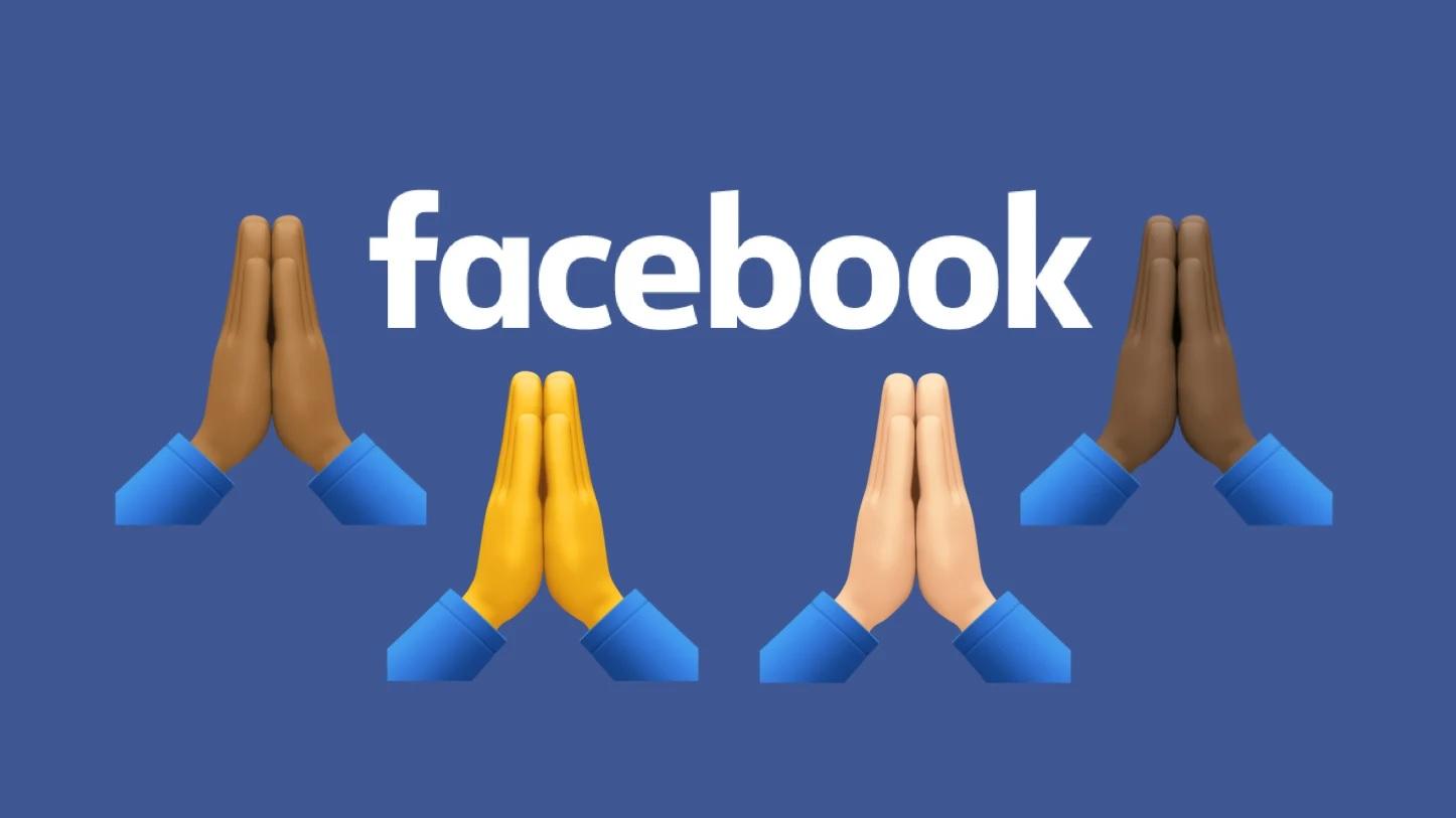 Facebook тестирует новую функцию «молитвенный пост»