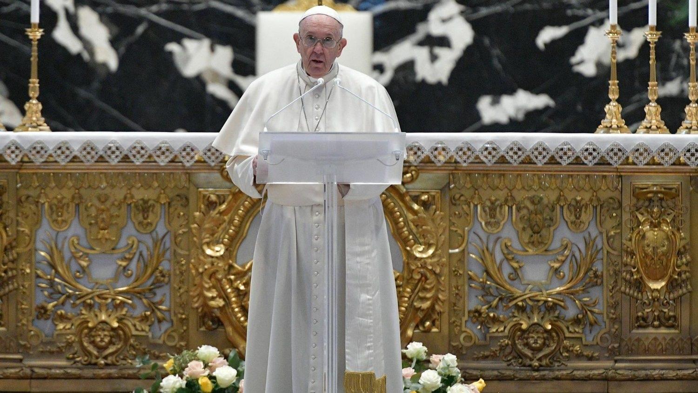 Папа Франциск на Пасху призвал к преодолению войн и насилия