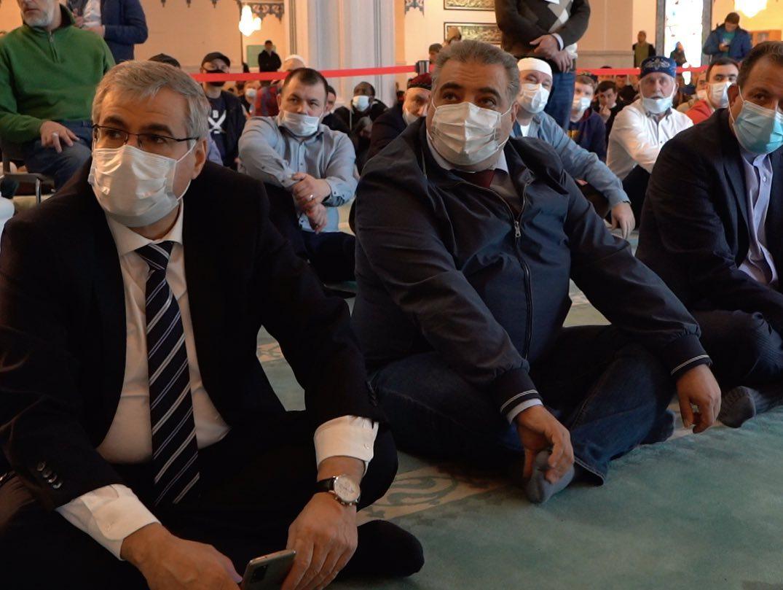 В Московской Соборной мечети прошёл День Аль-Кудс - Иерусалима