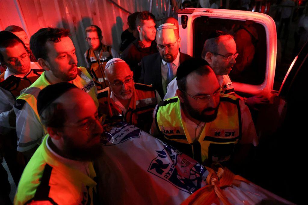 В Израиле 2 погибших и 213 раненых в недостроенной синагоге