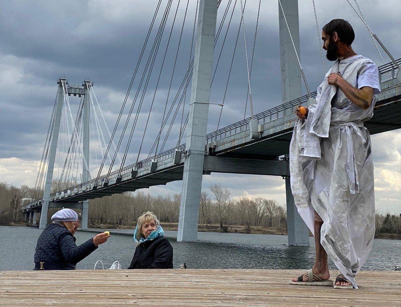 """За перформанс с """"Христом"""" художницу проверят на экстремизм"""
