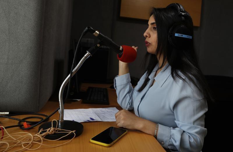 Репортер из Газы: избили за то, что она не носила платок