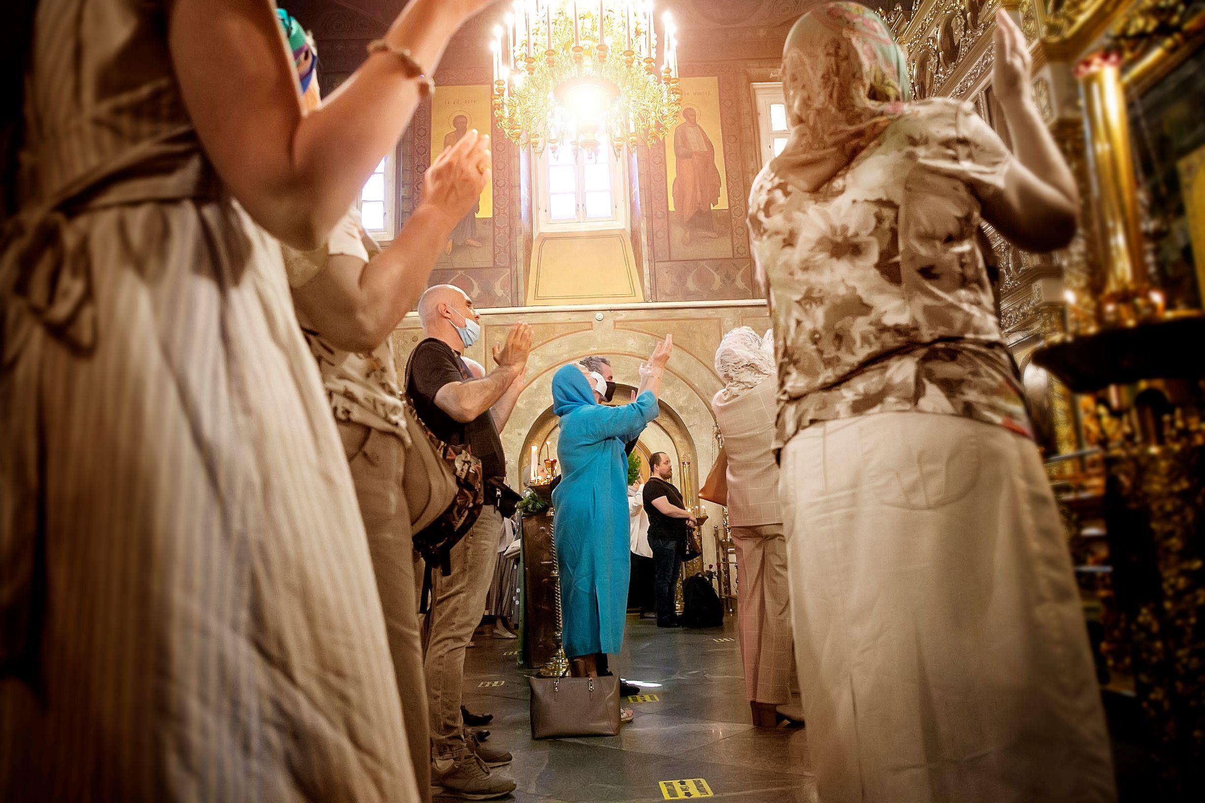 День Святой Троицы. Пятидесятница | Фото из храма Всех святых