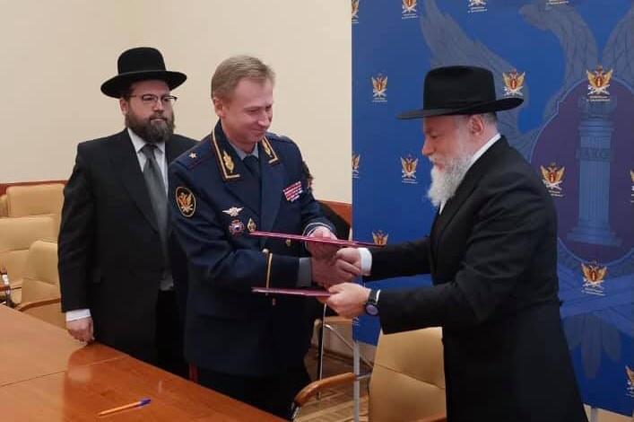 Президент ФЕОР встретился с главой УФСИН по Тульской области