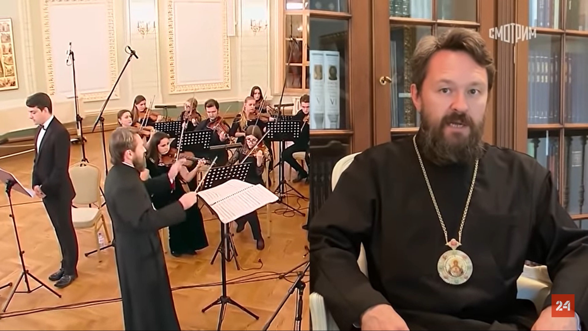 Митрополит Иларион - о книгах, музыке и Государственной премии
