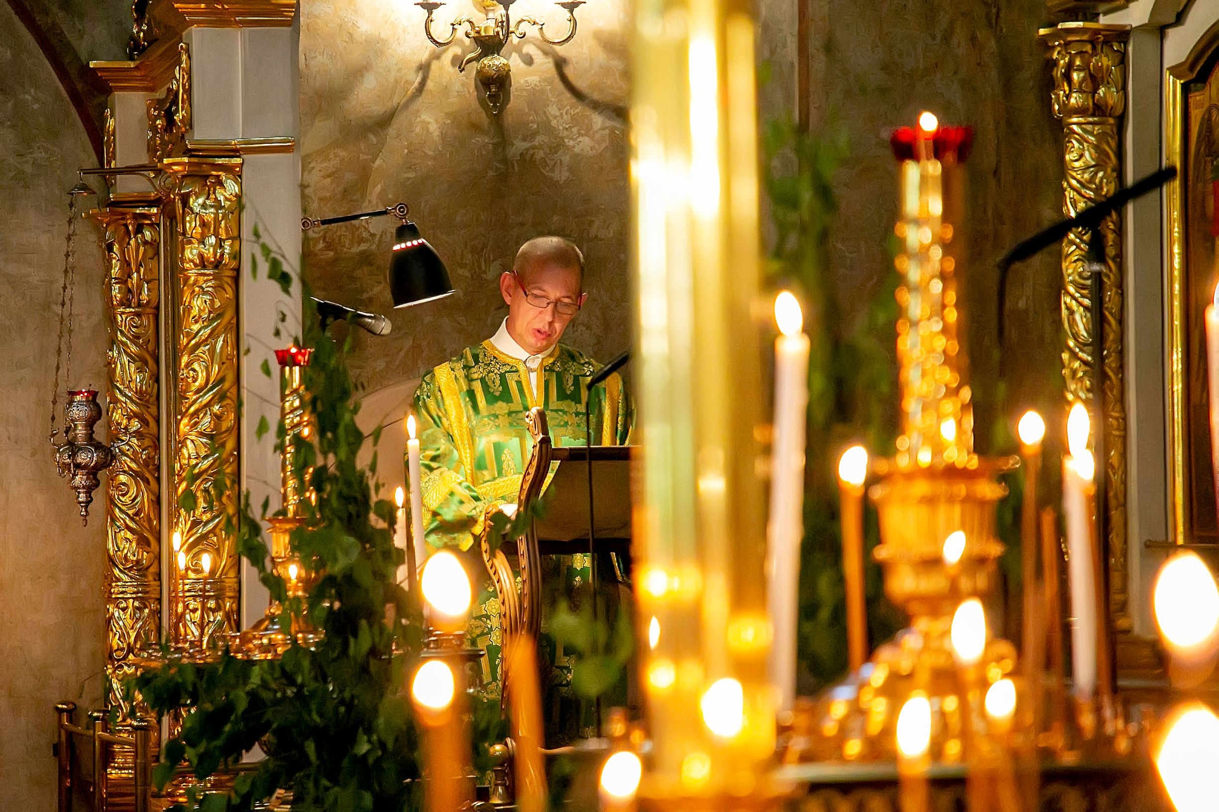 День Святой Троицы. Пятидесятница   Фото из храма Всех святых