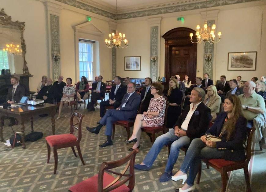 Состоялось заседание Представительства ИППО в Британии