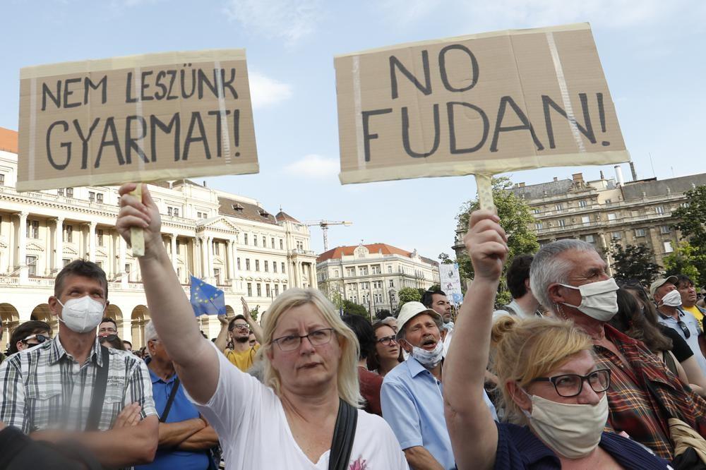 Венгрия: в столице протестуют против китайского университета