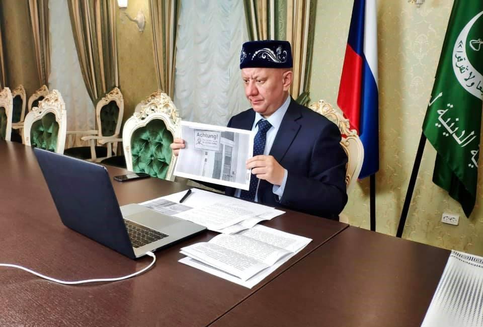Муфтий Крганов: нехватку мечетей могут использовать экстремисты