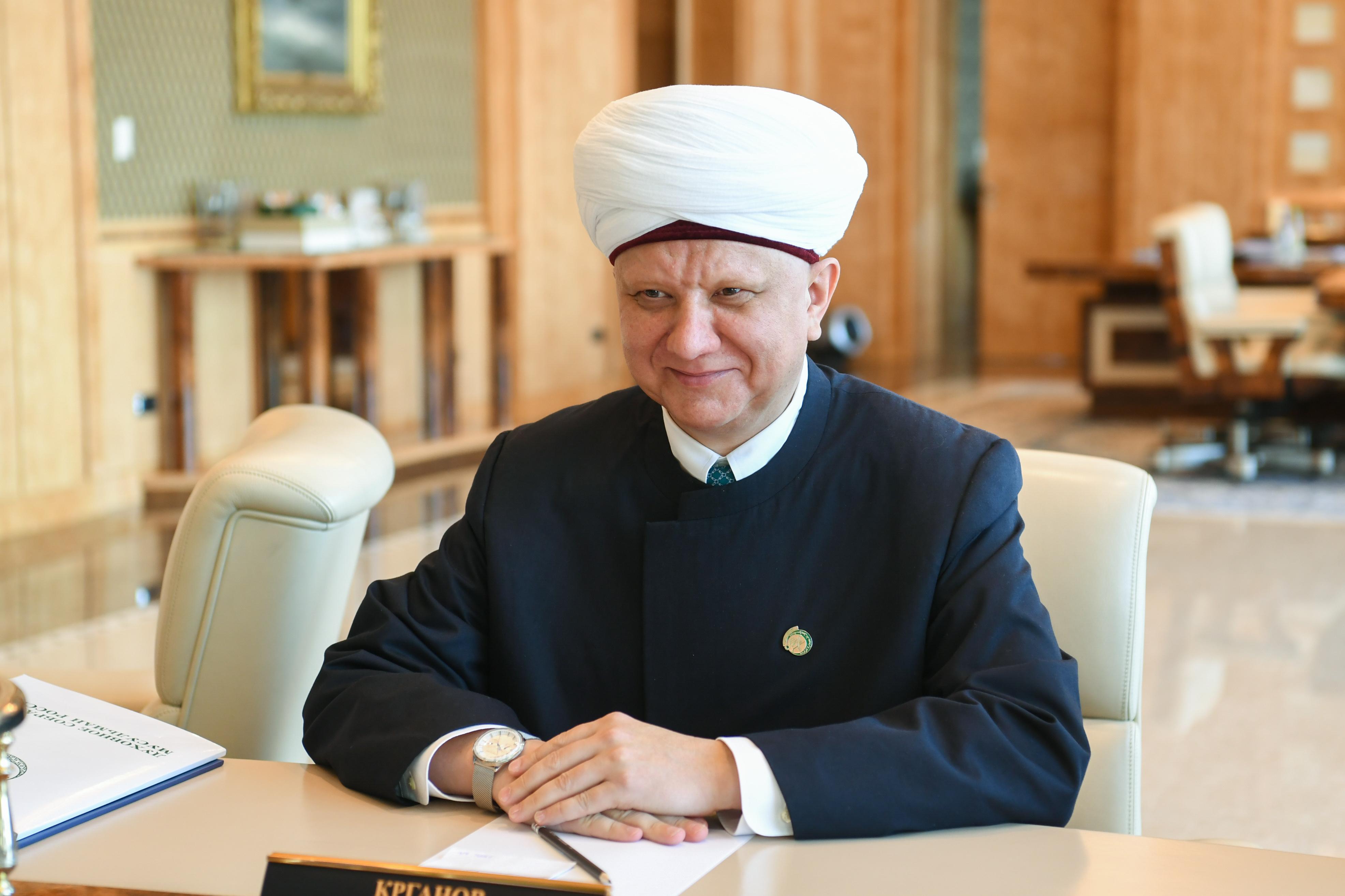 Президент Татарстана встретился с муфтием Альбиром Кргановым