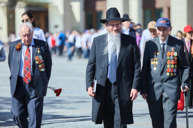 Раввин Лазар выступил с обращением к 80-летию начала войны
