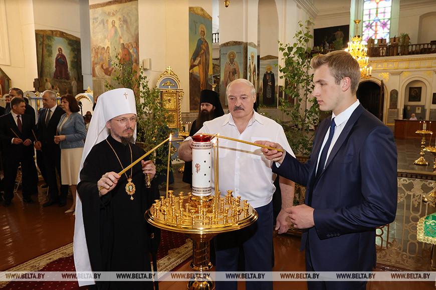 Лукашенко: сохранить в Беларуси межконфессиональный мир