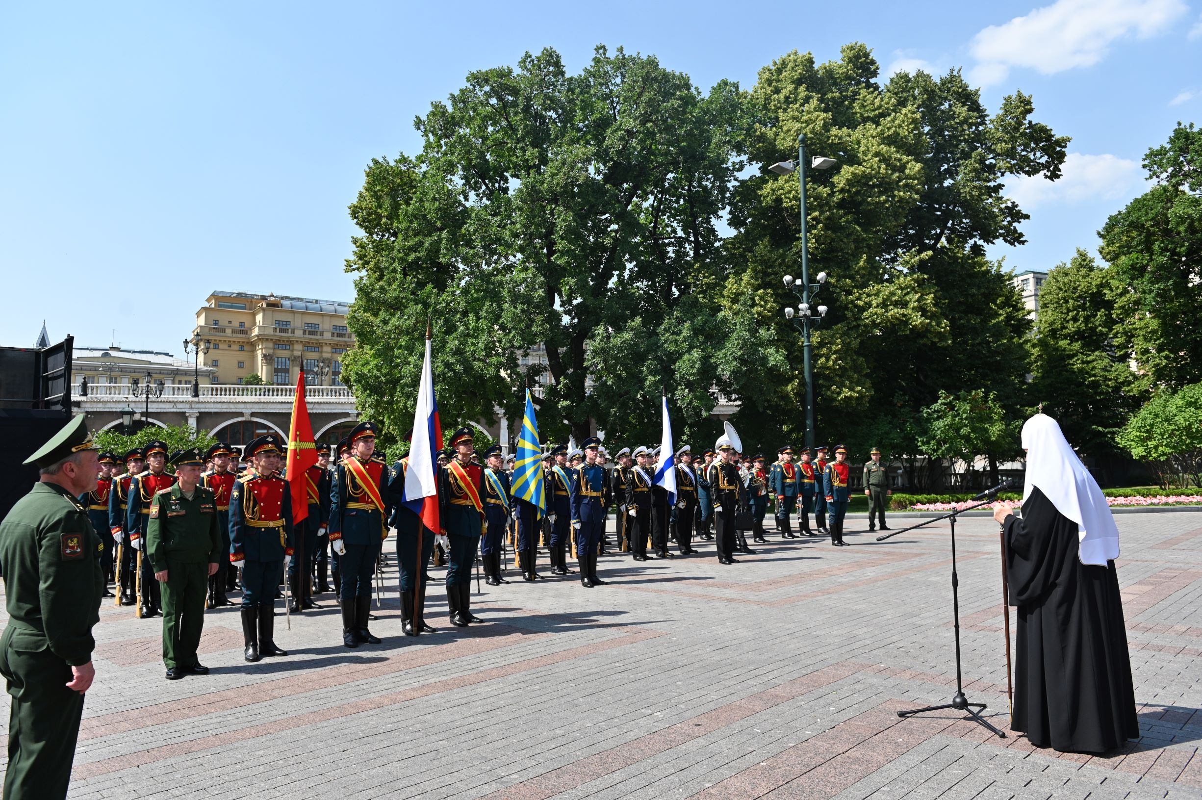 Патриарх Кирилл рассказал о единстве народа и интеллекте в армии