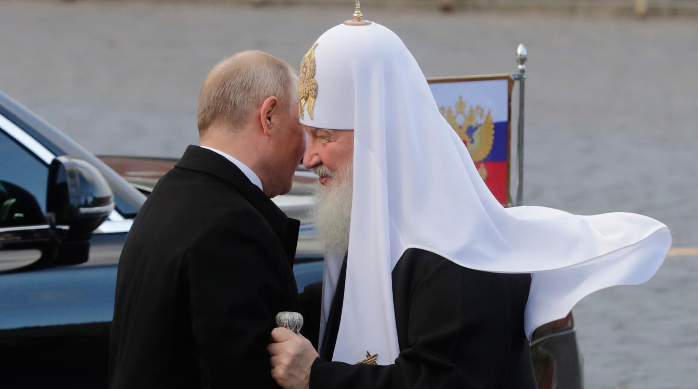 Владимир Путин и Патриарх Кирилл обменялись поздравлениями