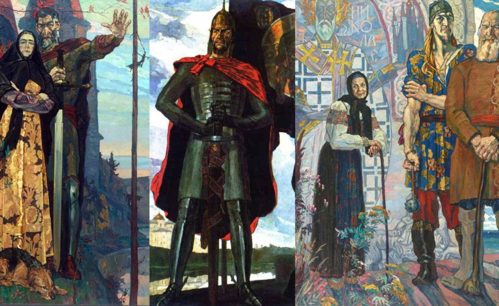 Мечты о свободе и Александр Невский   Путин посещает выставки