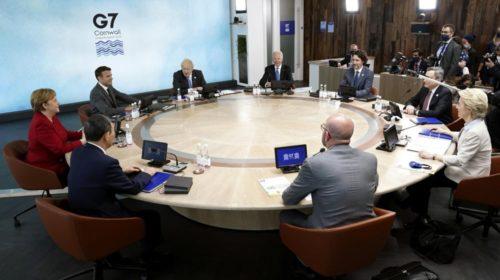Байден призовет лидеров Большой семерки выступить против Китая