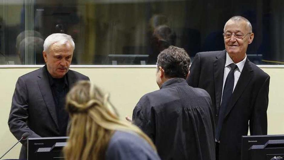 Бывшие силовики Югославии приговорены к 12 годам заключения
