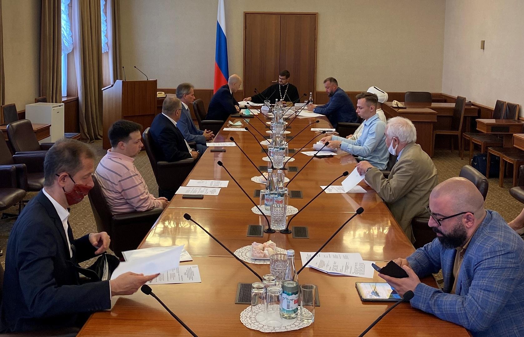 11-е заседание Межрелигиозной группы Совета при Президенте РФ