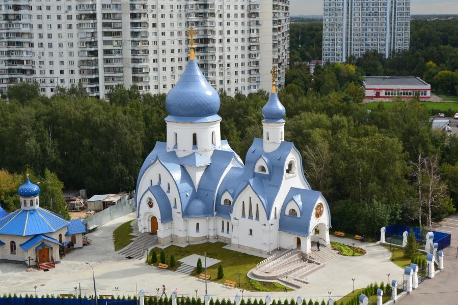 """В Москве по программе """"200 храмов"""" их возвели и восстановили 99"""