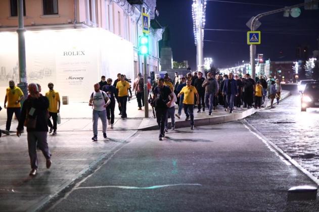 В Екатеринбурге прошел запрещенный властями крестный ход
