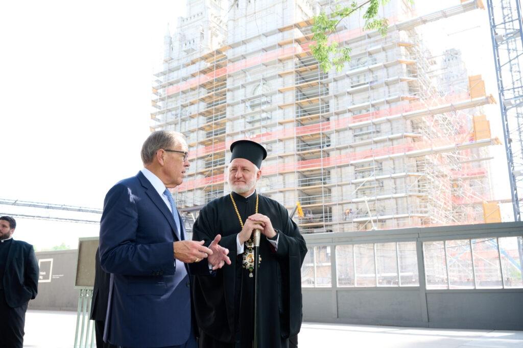Руководители мормонов приняли архиепископа Елпидофора