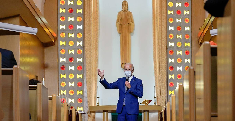 Байден - между церковным консерватизмом и либерализмом партии